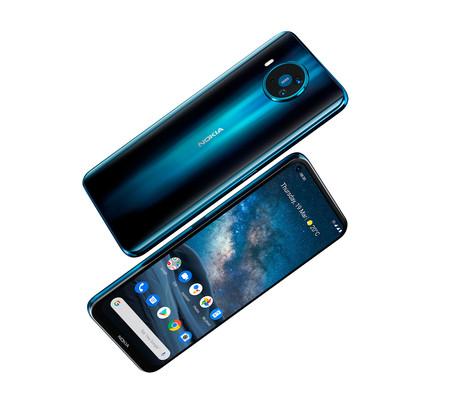 """Nokia 8.3 5G: el primer móvil 5G de """"la nueva Nokia"""" viene con pantalla perforada y cuatro cámaras"""