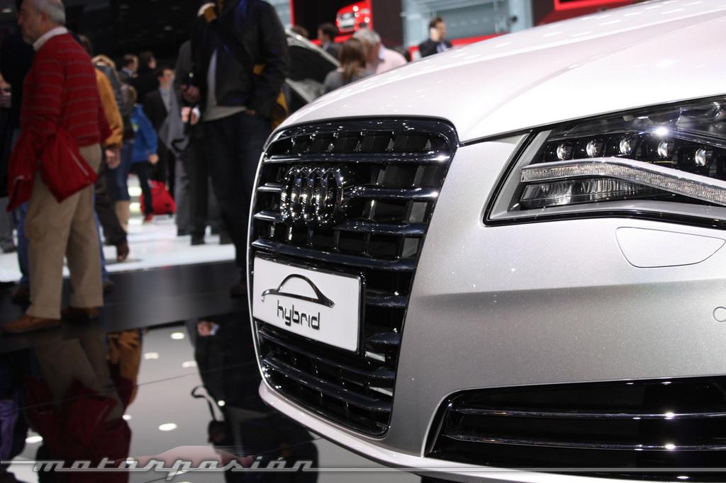 Foto de Audi A1 y A8 híbridos en el Salón de Ginebra (5/18)