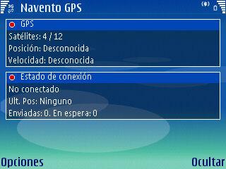 Sistema de localización GPS de Navento