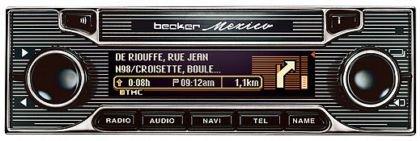 Becker México Classic, radio para coche con un diseño retro