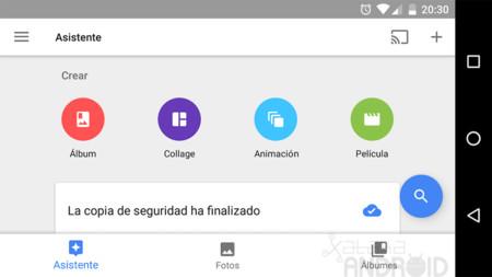 Google Fotos para Android estrena cambios en su interfaz para mejorar la navegación