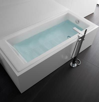 bañera tampa de roca