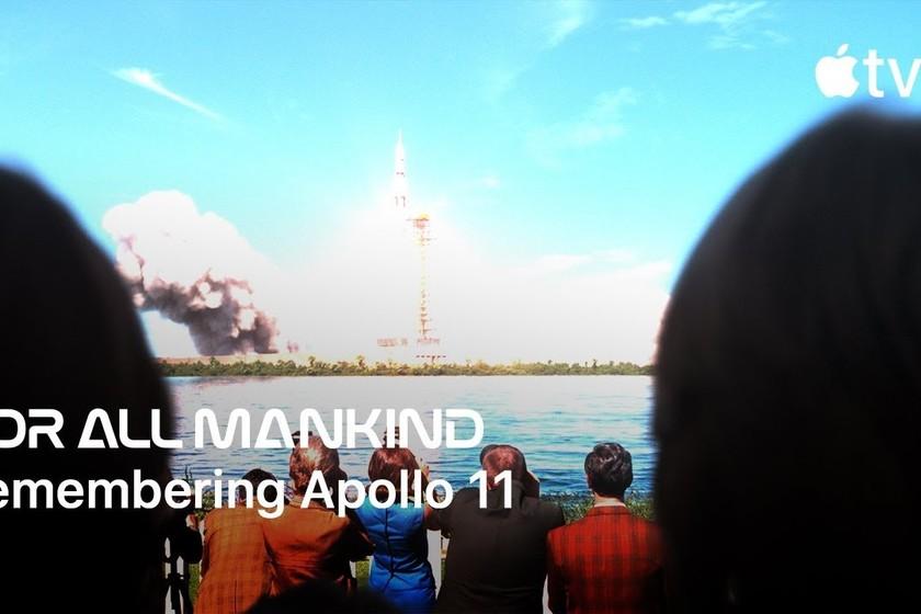 Apple conmemora el 50 aniversario del alunizaje con un 'teaser' de 'For All Mankind'