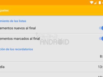 Así son los nuevos ajustes de Google Keep para Android