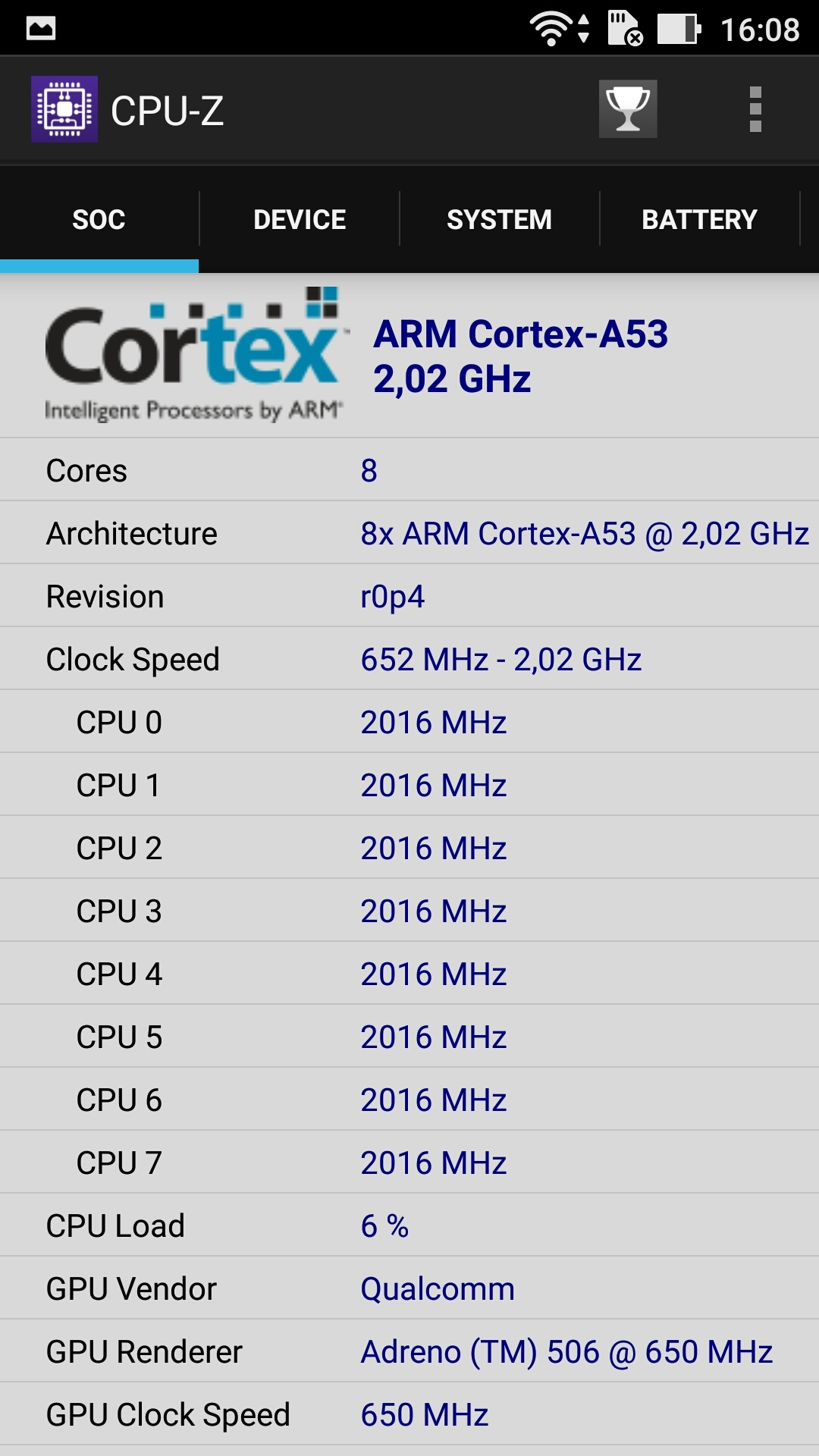 ASUS Zenfone 3 (ZE552KL), benchmarks