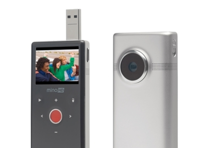 Flip Mino HD mejora para competir con el iPod nano 5G