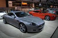 Aston Martin DB9 LM, fotos en vivo desde Frankfurt