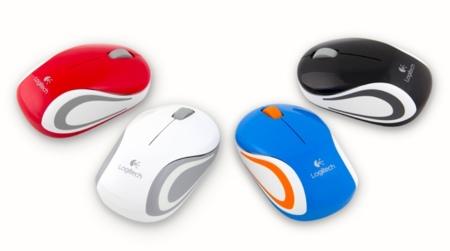 Logitech Mini Mouse M187 de colores