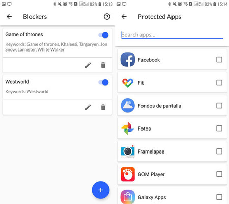 Protected Apps