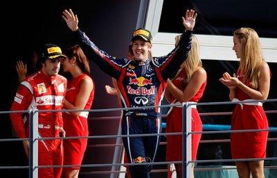 Sebastian Vettel continúa su tiranía en Monza