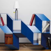 Rocky, el estante que crea ilusión óptica 3D