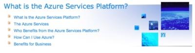 Azure Services Platform, el sistema operativo de Microsoft en la nube