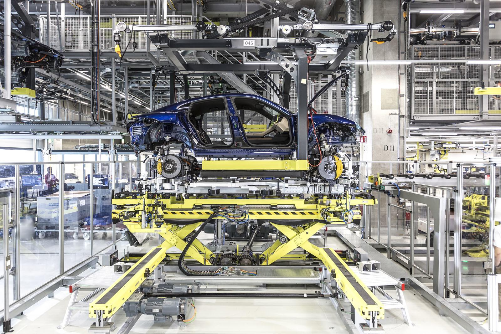 Foto de Fábrica Porsche Taycan (inauguración) (41/44)