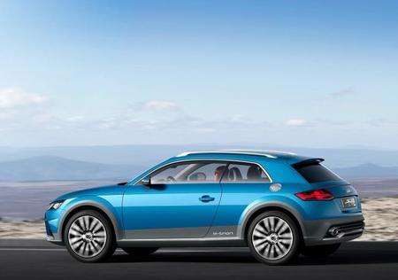 Audi SB tras