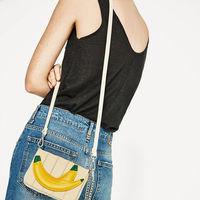 Bolso bananero de Zara