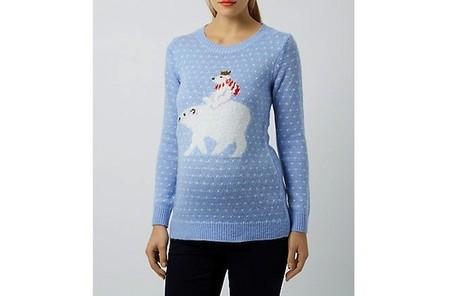 Jersey Navidad Premamá Osos Polares