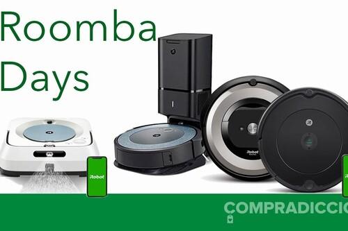 Roomba Days en Amazon: robots aspiradores, robots mopa y recambios a los mejores precios
