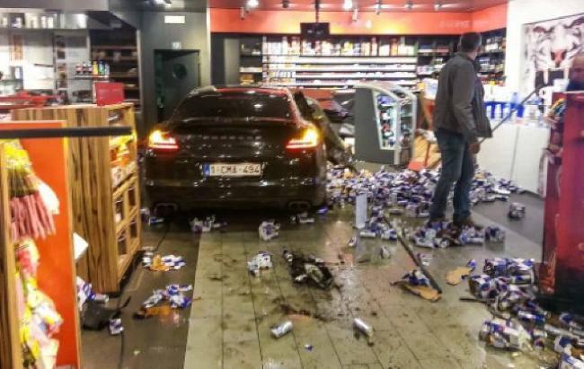 Accidente Porsche Panamera