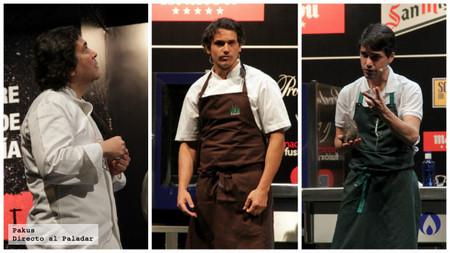 Algunos chefs representantes del eje andino