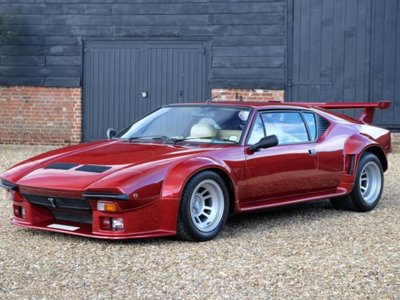 ¿Te gustan los coches exclusivos? Igual te interesa este espectacular De Tomaso Pantera GT5
