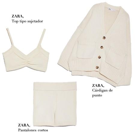 Conjunto Punto Zara Shopping