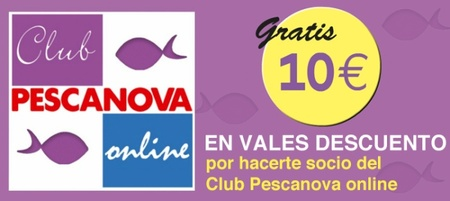 Club Pescanova ¡Consigue 10 euros de descuento!