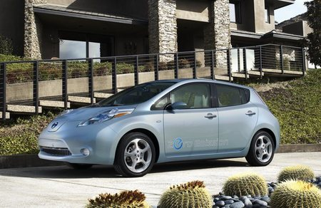 Nissan LEAF Home USA