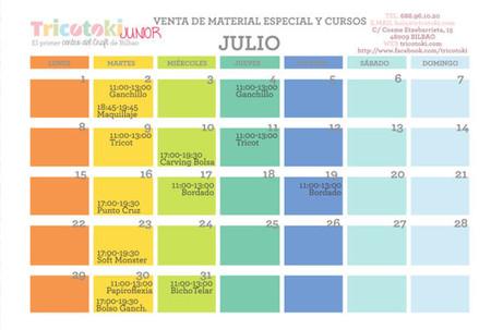 Calendario Tricotoki