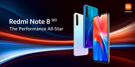 El nuevo Redmi Note 8 2021 vendrá equipado con el Mediatek Helio G85 y ya conocemos su diseño