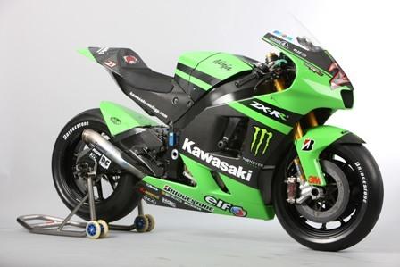 La nueva y preciosa Kawasaki ZX-RR de MotoGP