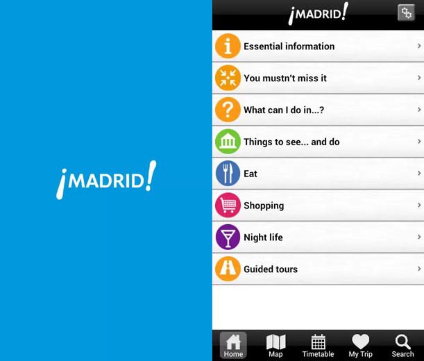 Madrid Guía oficial de viaje
