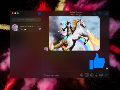 Caprine, un elegante cliente de Facebook Messenger para el escritorio de Windows, Linux y Mac
