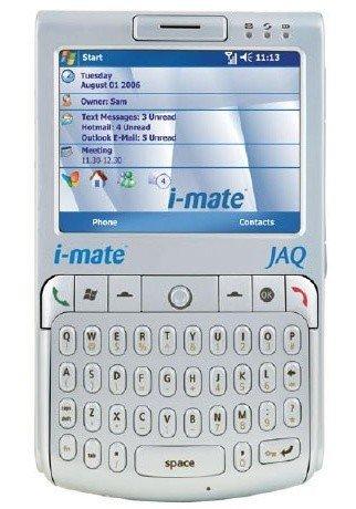 i-mate JAQ en la estela del Motorola Q