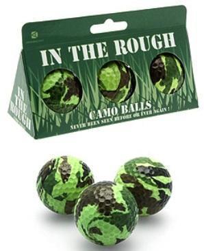 Camo Golf Balls, bolas de golf de camuflaje
