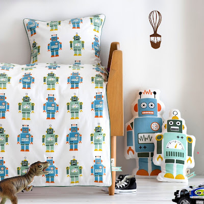 Un dormitorio infantil para un niño científico