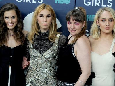 Así vistieron las actrices de Girls para la premiere de la última temporada. Lena, ¿qué te ha pasado?