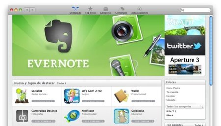 Mac App Store, la nueva forma de conseguir aplicaciones para la plataforma Mac OS X