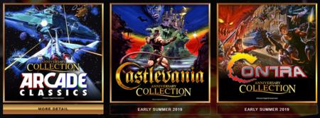 Konami anuncia los recopilatorios Anniversary Collection de Castlevania, Contra y otros juegos arcade