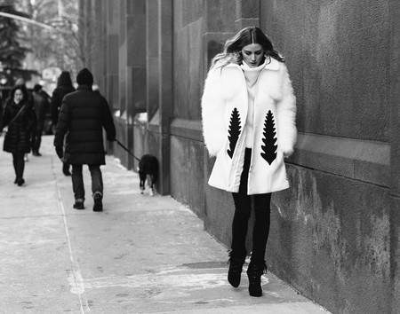 Olivia Palermo nos da las claves para vestir en pleno invierno (con la NYFW como telón de fondo)