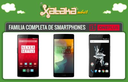 Así queda catálogo de smartphones OnePlus tras la incorporación del OnePlus X