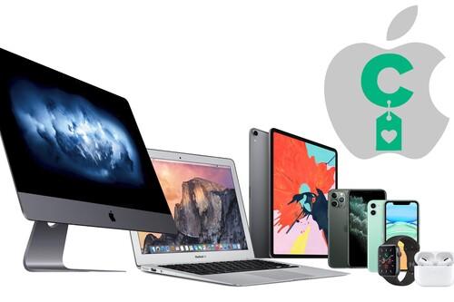 Los mejores precios en iPhone, Mac, AirPods o Apple Watch: las ofertas de la semana en dispositivos Apple