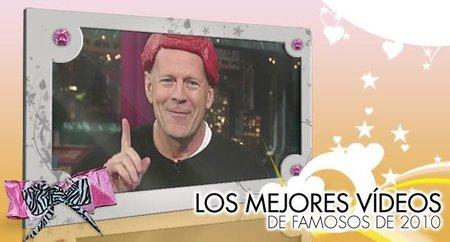 Los mejores vídeos de famosos de 2010 en Poprosa