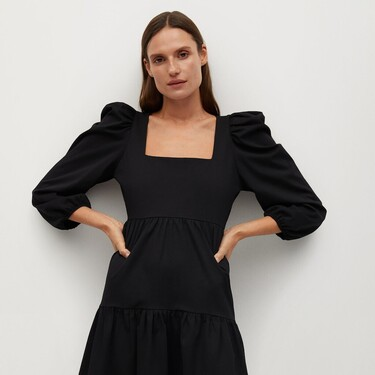 Mango nos propone vestidos monísimos en rebajas para lucir ahora y en primavera por menos de 20 euros
