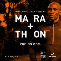 Correr una maratón virtual junto con Kipchoge y otros atletas de élite: prepárate para el primer fin de semana de junio