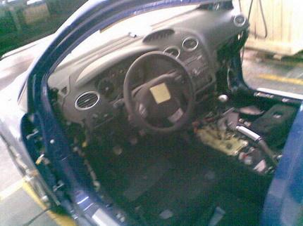 Ford Focus ST al desnudo
