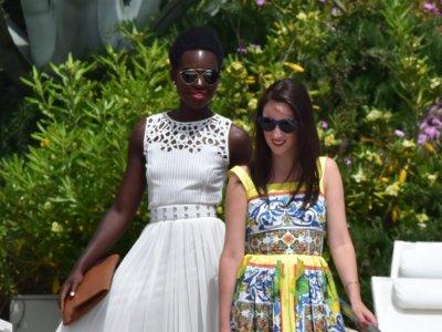 Lupita Nyong'o en Cannes: derroche de glamour también fuera de los focos