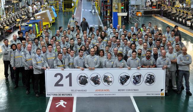 Renault Valladolid - 21 millones de motores