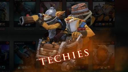 Los 4 sets de Techies por los que votar para aparecer en el Tesoro del Coleccionista del Pase de Batalla de TI9