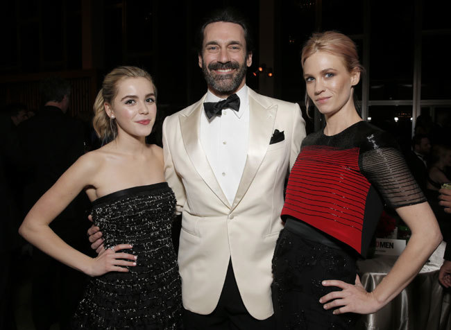 Kiernan Shipka Jon Hamm January Jones Mad Men 2015