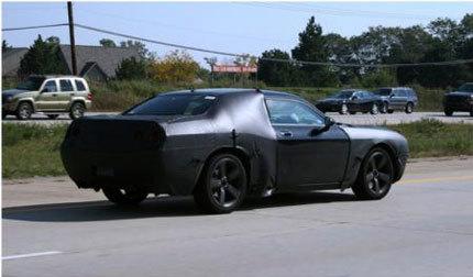 Dodge Challenger, nuevas fotos espía y <em>bye bye hardtop</em>